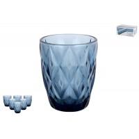 Набор стаканов 1/6 240мл Тебриз синий GB2604D5209LJ