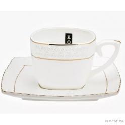 Пара чайная 240мл Снежная королева квадрат