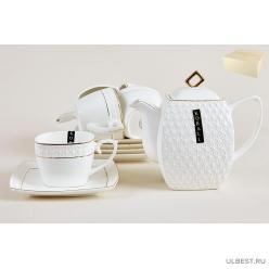 Набор чайный Снежная королева квадрат 6 персон