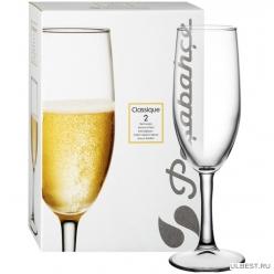 Набор бокалов для шампанского Pasabahce Классик 250 мл Классик 2 шт