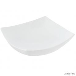 Тарелка суповая стеклянная Luminarc Quadrato 200 мм H3659