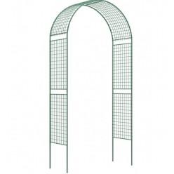 Садовая разборная арка Россия Сетка широкая 2,5х0,5х1,2м
