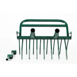 Рыхлитель садово-огородный СУПЕР-ЗЕМЛЕКОП-7 (2ручки,7 зубьев,550 мм)