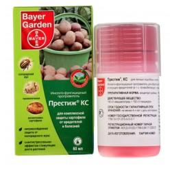 Комплексная защита картофеля от вредителей и болезней Престиж КС 60 мл