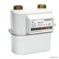 Газовый счетчик BK-G4T с термокорректором левый