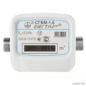 Газовый счетчик Бетар СГБМ-1,6 фото