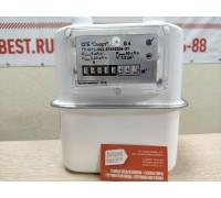 Газовый счетчик Сигнал СГБ-G4 верх правый
