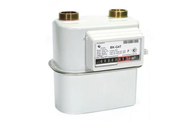 Газовый счетчик BK-G4T с термокорректором левый фото