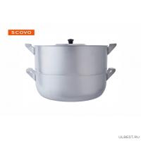 Манты-казан Scovo МТ-040 6л 4 вставки