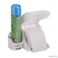 Держатель для туалетной бумаги и освежителя воздуха М6052
