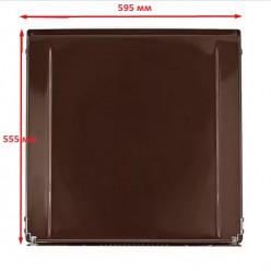 Крышка стола GEFEST мод. 1200, 6100, эмаль коричневая (1200.00.0.007-02)