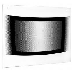 Стекло духовки наружное плиты GEFEST мод. 3100, белое, 496*432мм (3100.11.0.004-07 р.3)