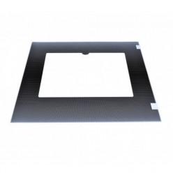Стекло духовки наружное плиты GEFEST 3100, 3200, коричневое, с термоуказателем, 497*408мм (3200.15.3.000-01)