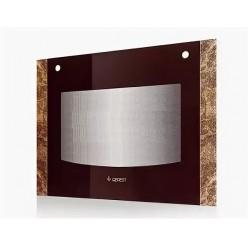 Стекло наружное GEFEST мод. 1300, 1500 К19, коричневый мрамор, 598*446мм (1500.18.0.002-02)
