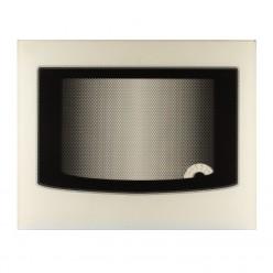 Стекло духовки наружное плиты GEFEST 3100, белое, с термоуказателем, 497*396 мм (3100.04.0.008-05)