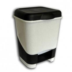 Контейнер педальный для мусора 20л. С428 Полимербыт