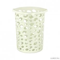 Корзина для мусора Соренто 12л (белый) М2052