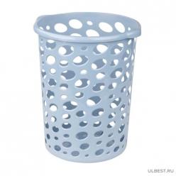 Корзина для мусора Сорренто 12л. (синий)(уп.10) М7088
