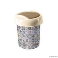Контейнер для мусора 1 л декор Марокко SV4119