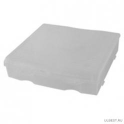 Блок для мелочей 14x13 см прозрачный матовый ПЦ3712