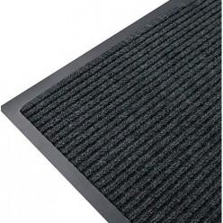 Коврик влаговпитывающий на резиновой основе Черри (1200х1800 мм) черный РТИ