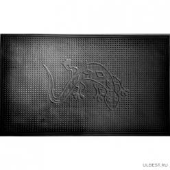 Коврик резиновый Саламандра (400х600 мм) черный тип. КА 202-1 РТИ