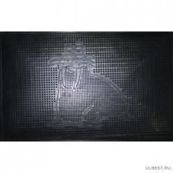 Коврик резиновый Морж (400х600 мм) черный тип. КА 31-1 РТИ