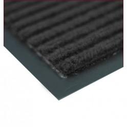 Коврик влаговпитывающий на резиновой основе Черри (1200х2500 мм) черный РТИ