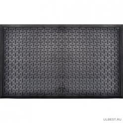 Коврик резиновый Косточка (450х750 мм) черный тип. КА 111 РТИ