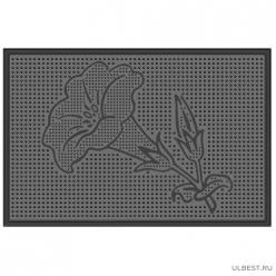 Коврик резиновый Настурция (400х600 мм) черный тип. КА 16-1 РТИ