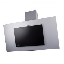Кухонная вытяжка AKPO WK-4 Nero eco 90 см металлик/черное стекло