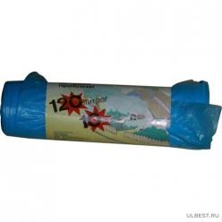 120л х 10 шт Голубые ПНД Профессионал мдмк Клевер (рулон) 5