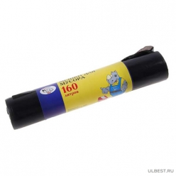 Мешки для мусора 160л (10шт/упак) Мульти-Пласт 2000