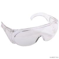 Очки STAYER STANDART защитные,поликарбонатная монолинза с боковой вентиляцией, прозрачные 11041