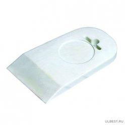 Шпатель резиновый, белый, 40 мм (шт.) 12-2-109