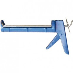 Пистолет для герметика полукорпусной с гладким штоком Пеносил (12001)