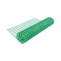 Сетка садовая 30х30 10 м (шир.1,5м) Зеленая М2874