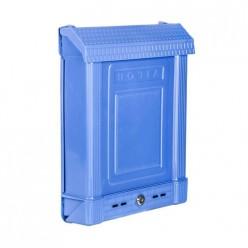 Ящик почтовый с замком (синий) (уп.7) М6179