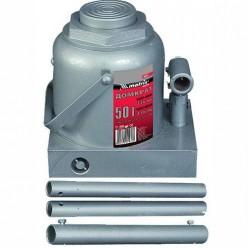 Домкрат гидравлический бутылочный, 2т, h подъема 181-345мм MATRIX MASTER 50715