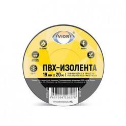Изолента 19мм*20м черная AVIORA-МОНОЛИТ/200 305-050