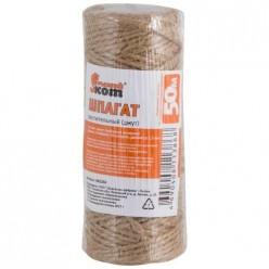 Шпагат 50 м,D-1,5 мм(бобинка) растительный из лубяных волокон (джут) арт.082284