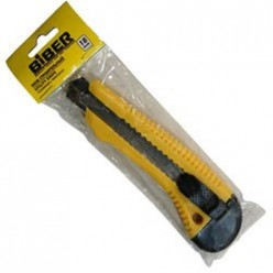 БИБЕР 50114 Нож технический усиленный 18мм (24/288)
