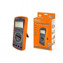 Мультиметр цифровой ударо-пылезащищенный серия МастерЭлектрик DT9205A TDM (SQ1005-0007)