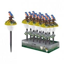 Светильник СП Птицы на солнечных батареях, меняют цвет, пластик, в ассортименте, ДБ, TDM (SQ0330-0