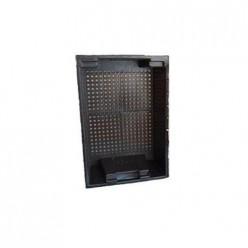 Ящик для овощей (600х400х200) черный Бриг