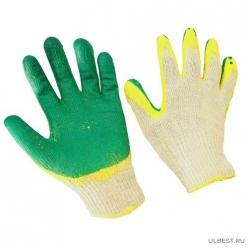 Перчатки ХБ 2 облив латекса
