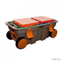 Ящик универсальный на колесах С-2 800х370х340 мм 610362