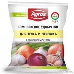 Комплексное удобрение для лука и чеснока с микроэлементами (1кг)
