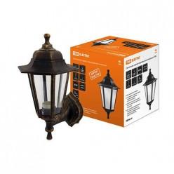 Светильник садово-парковый НБУ 06-60-001 шестигранник, настенный, пластик, бронза TDM (SQ0330-0711)