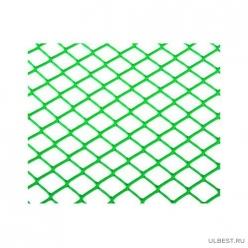 Сетка садовая (ромб) 20х20 м (шир.1,5м) (30м) Зеленая М3906